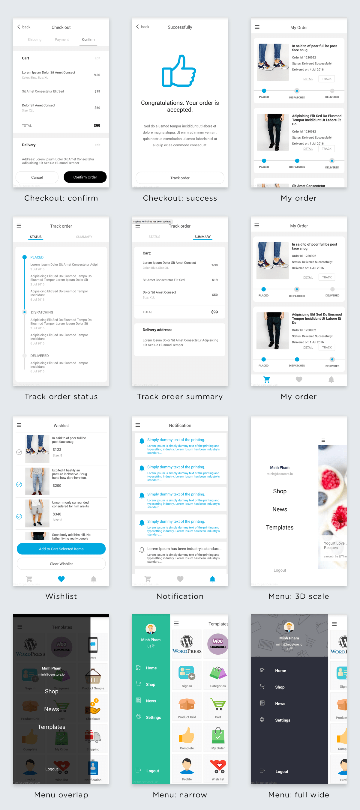 BeoStore - Complete Mobile UI template for React Native - 9