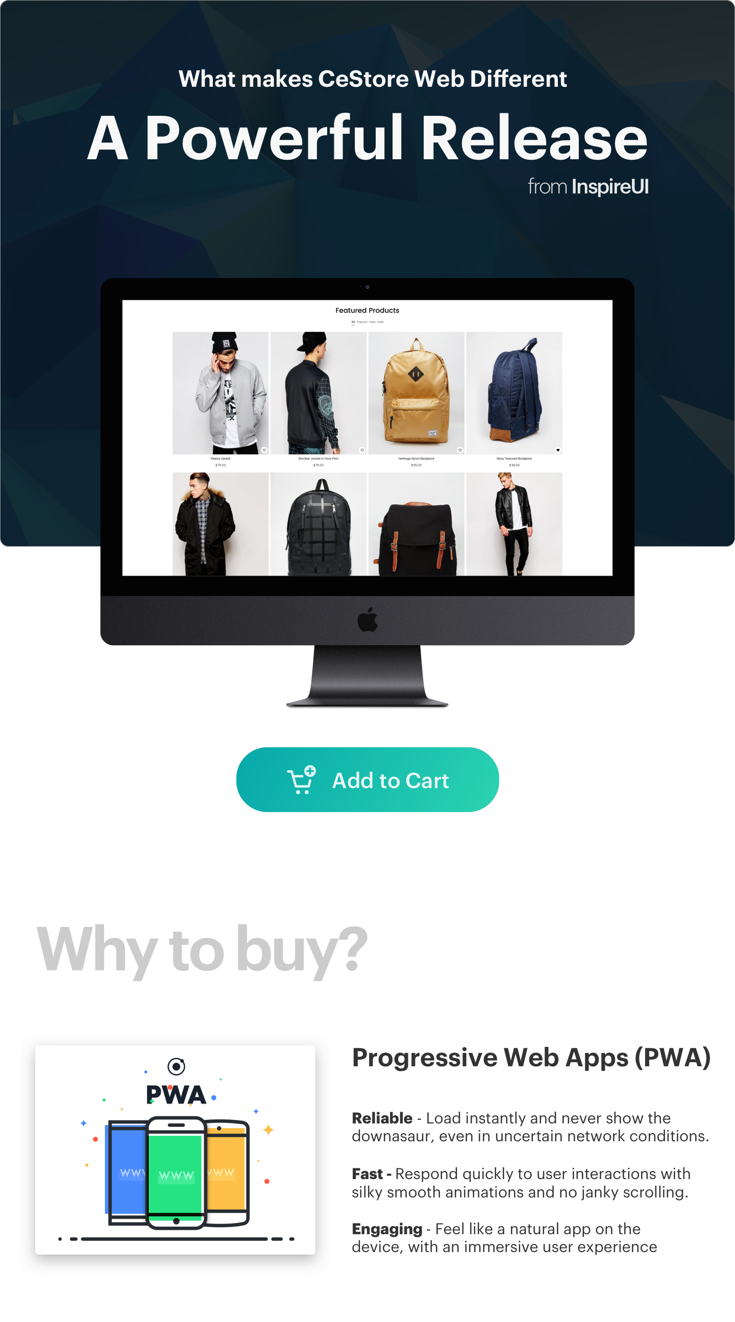CeStore - ReactJS web app & React Native mobile app for e-commerce - 8
