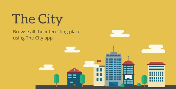The City - Place App with Backend 6.2 - CodeCanyon Item for Sale