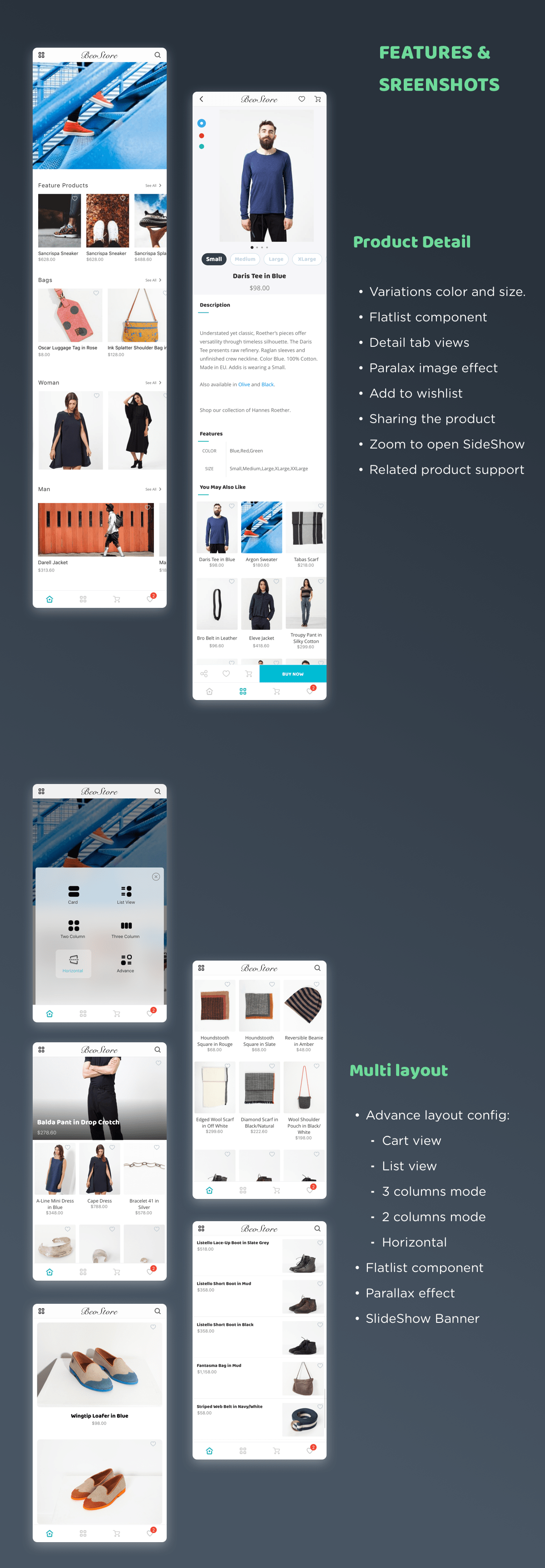 Mstore Shopify - Complete React Native template for e-commerce - 7