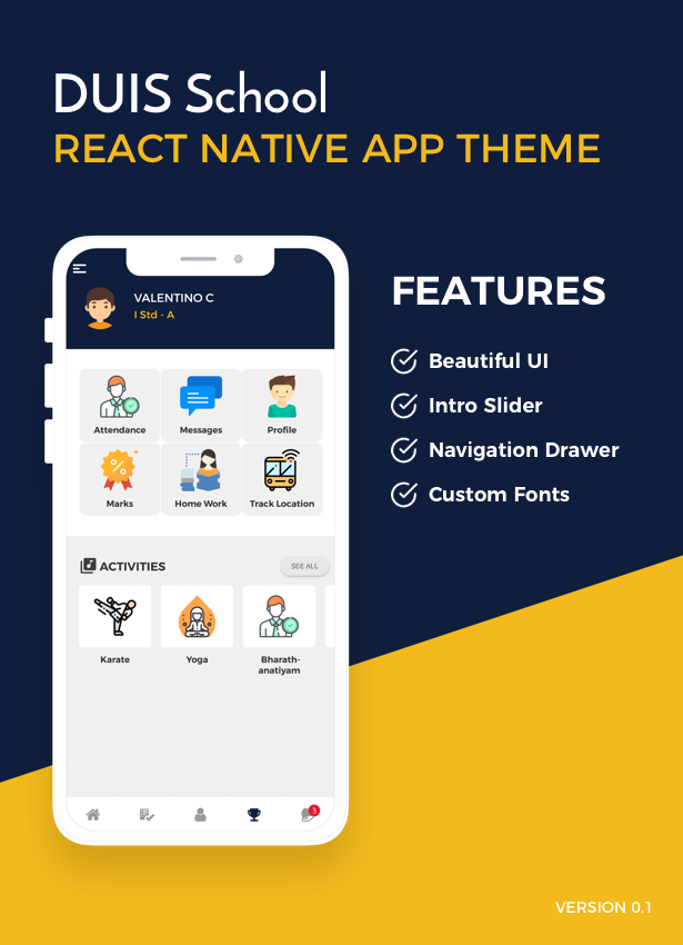 DUIS School React Native UI - 1