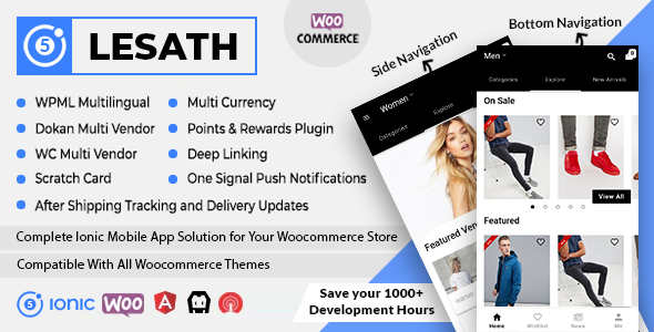 Ionic5 Ecommerce - Universal iOS & Android Ecommerce / Store Full Mobile App with Laravel CMS - 42