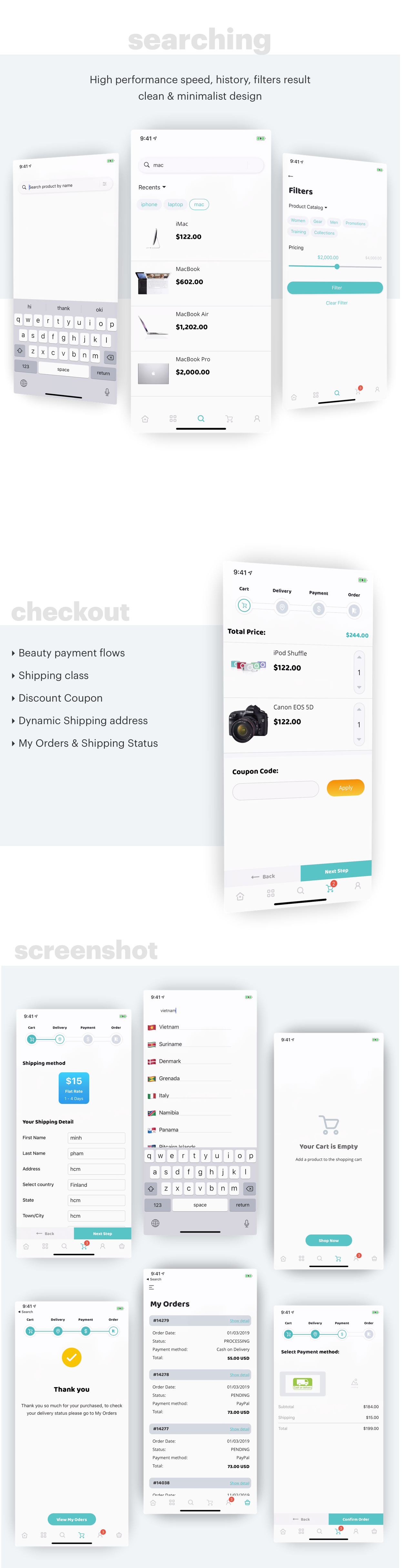 MStore Opencart - the complete react native e-commerce app (Expo version) - 4