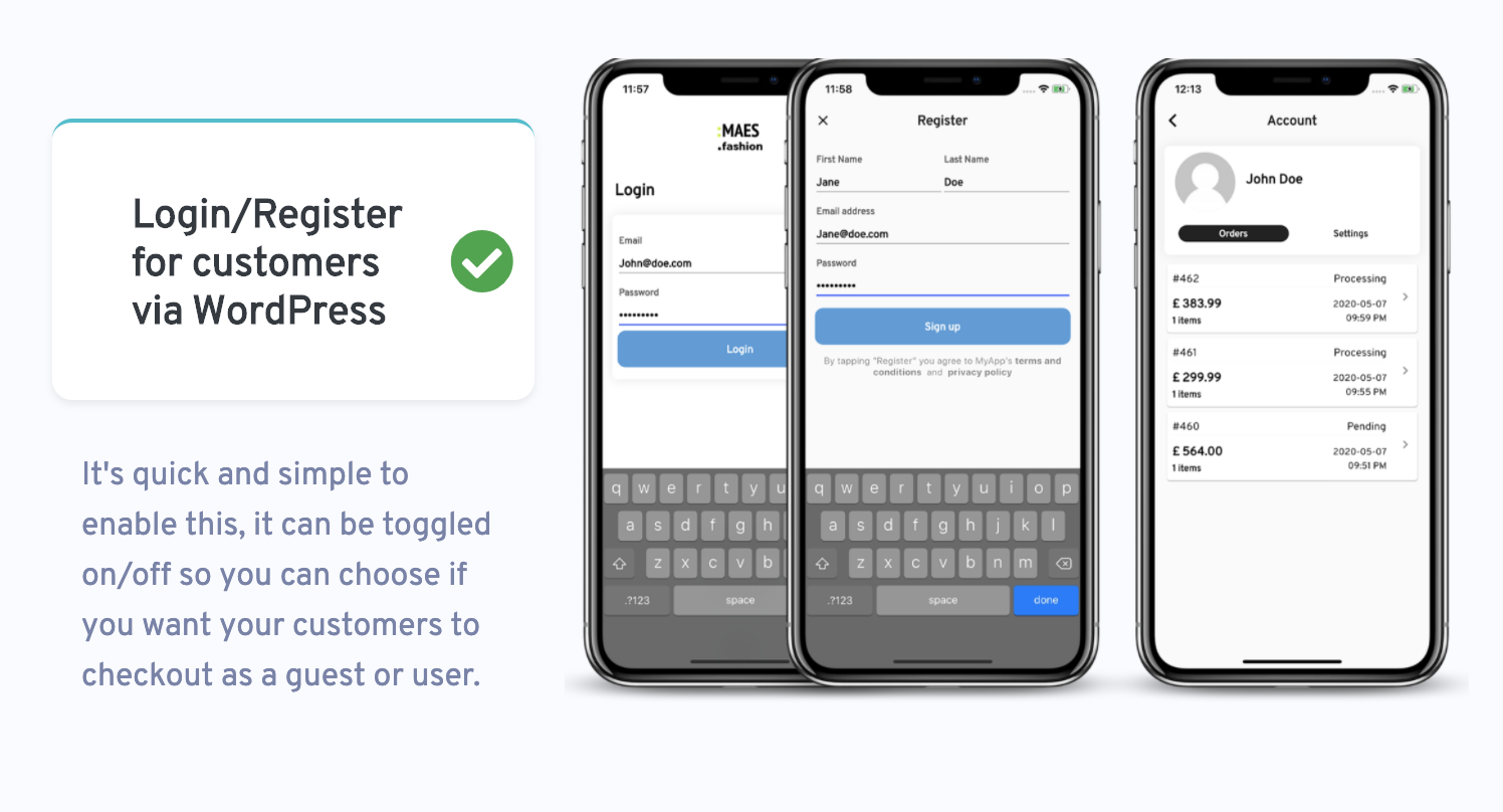 Flutter WooCommerce App Label StoreMax For IOS and Android Stripe - 2