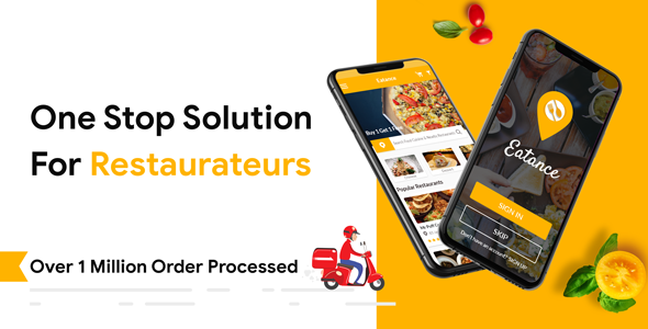 Eatance Driver: The Food Delivery and Driver APP