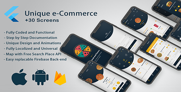 Flutter e-Commerce Solution for Android and IOS