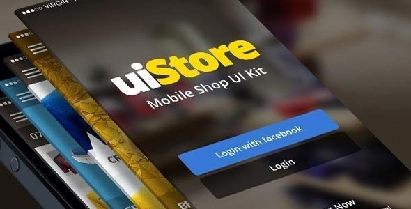 uiStore iOS Template – Mobile UI Kit