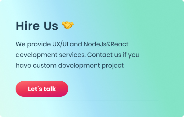 EasyDev — React Redux BS4 Developer Friendly Admin Template + Seed Project - 10