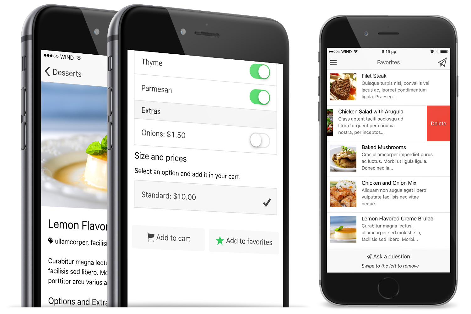 Restaurant Ionic 5 - Full Application with Firebase backend - 14