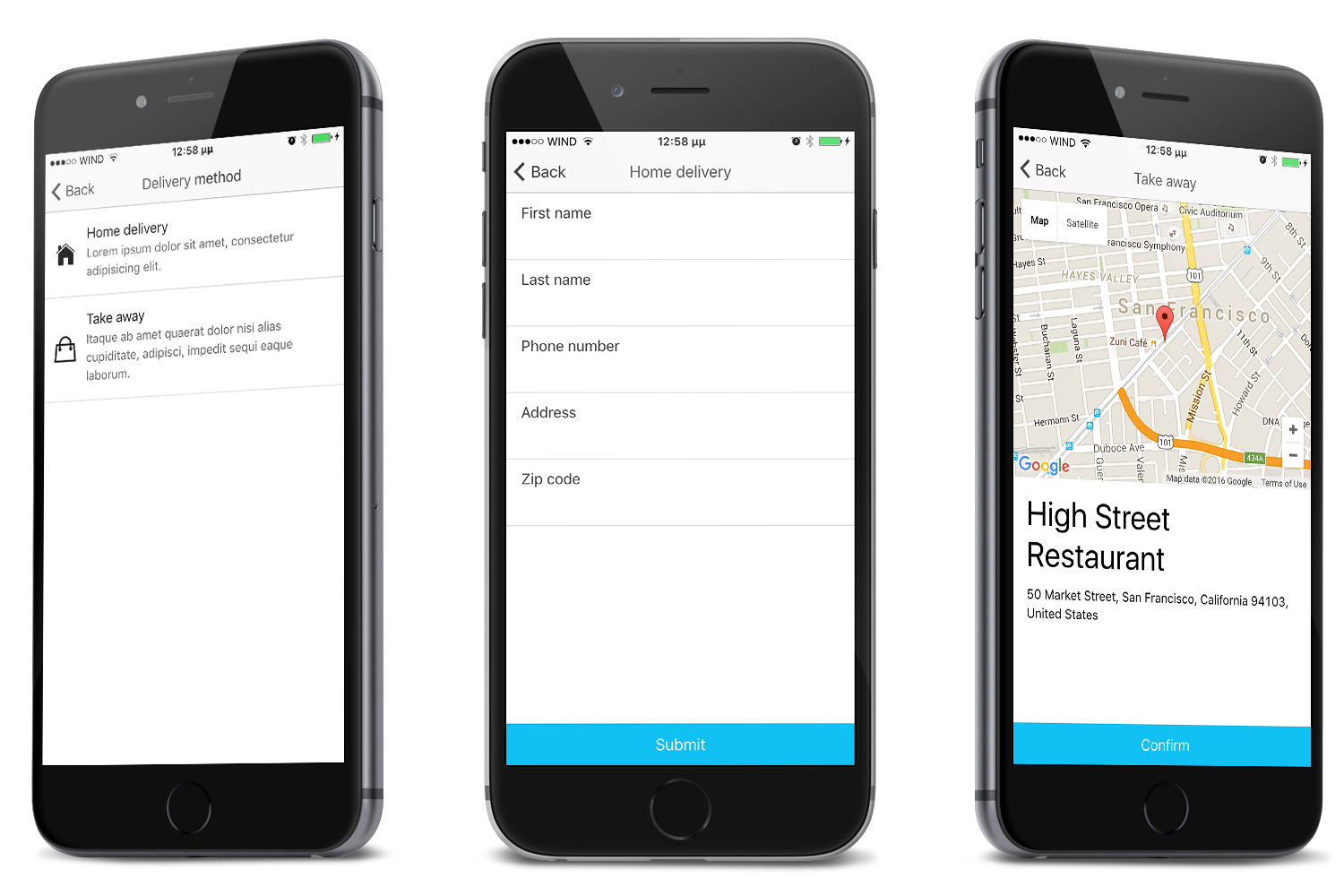 Restaurant Ionic 5 - Full Application with Firebase backend - 13