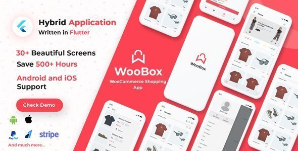 WooBox – WooCommerce Flutter E-commerce Full Mobile App