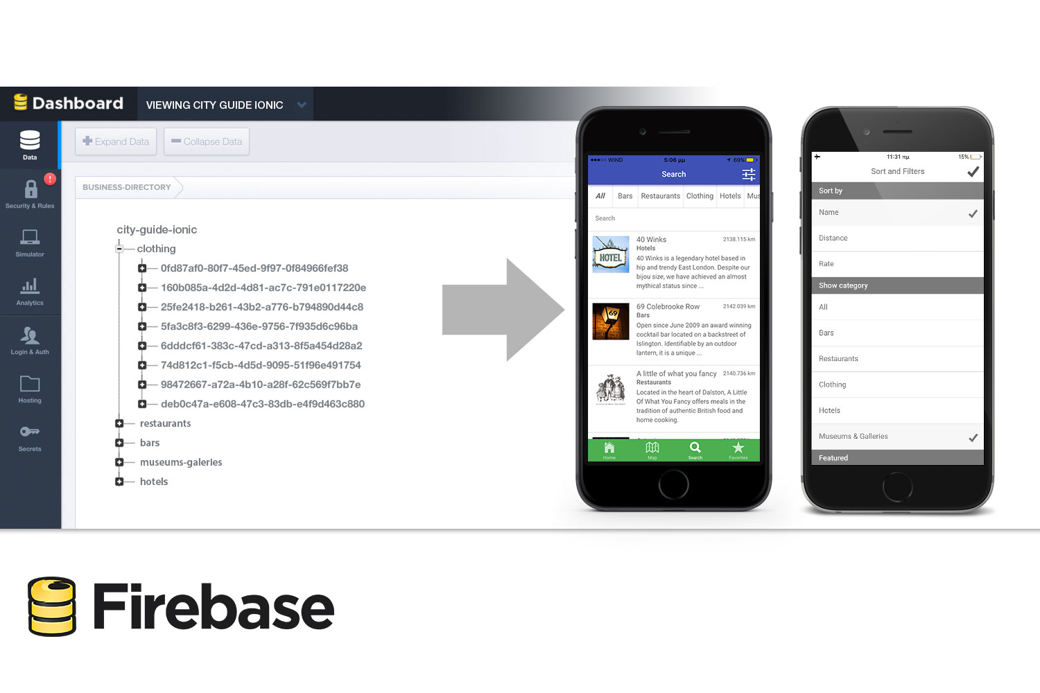 City Guide Ionic 5 - Full Application with Firebase backend - 7