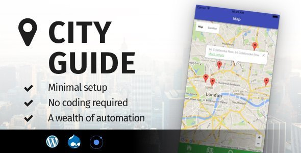 City Guide Ionic 5 – Full Application with Firebase backend