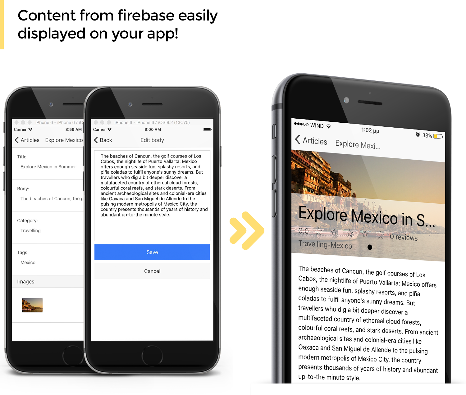 Firebase Publisher Kit Ionic - Full Application with Firebase backend and Admin UI - 2