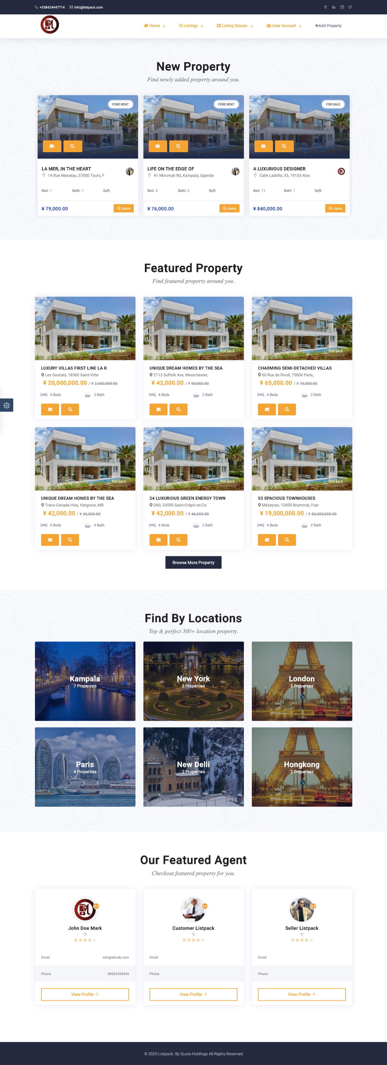 Listpack Ionic 4 Classified Ads  Android  + IOS + Frontend + Backend - 5