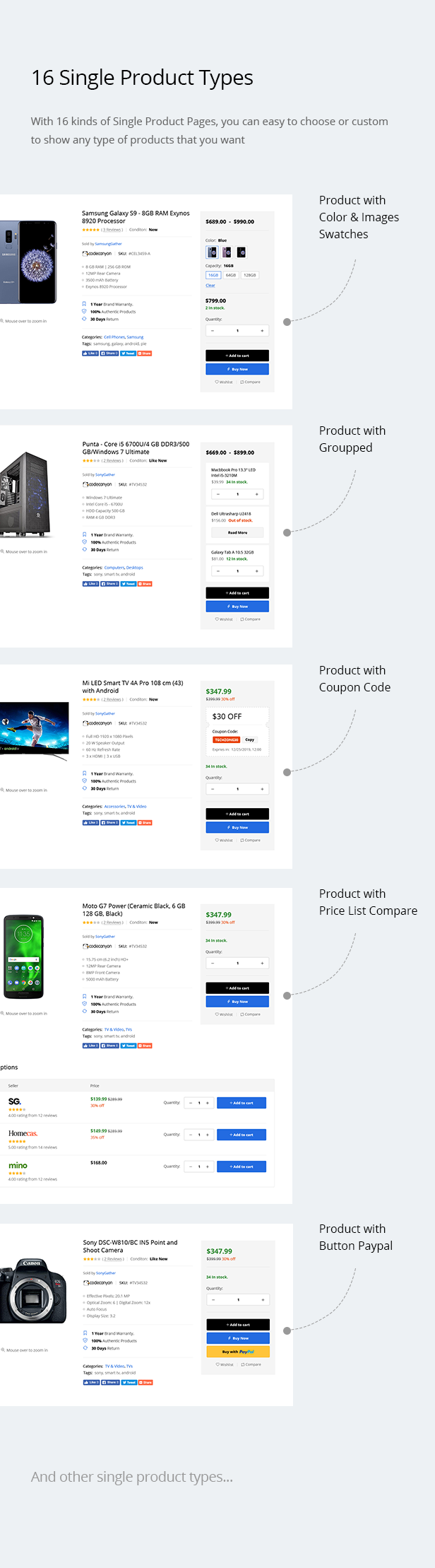 Teckoo - Electronic & Technology Marketplace eCommerce PSD Template - 10