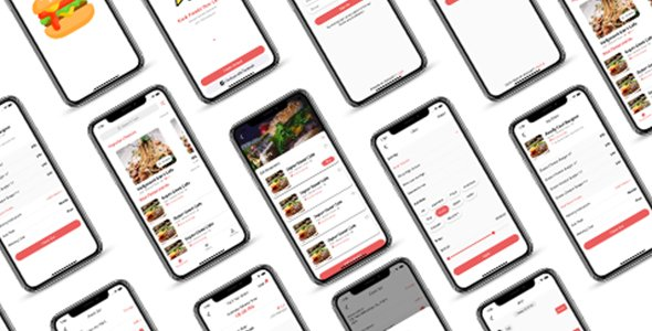 ionic 5 food delivery full app template