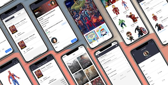 ionic 5 bookMyShow App Template