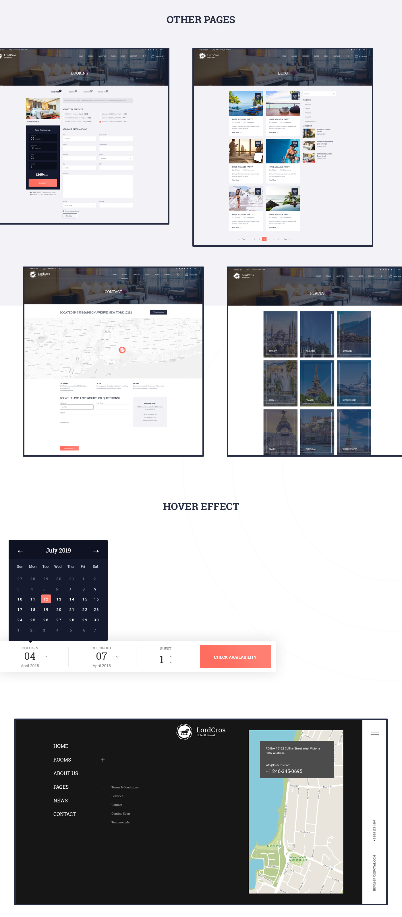 LordCros - Hotel, Resort & Spa PSD Template - 5