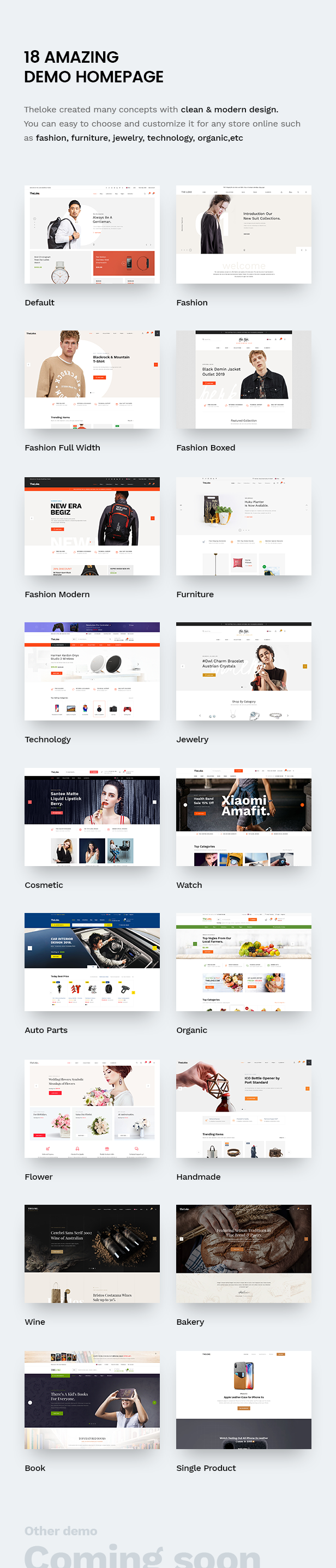 TheLoke - Clean & Modern Multi-Purpose eCommerce PSD Template - 5