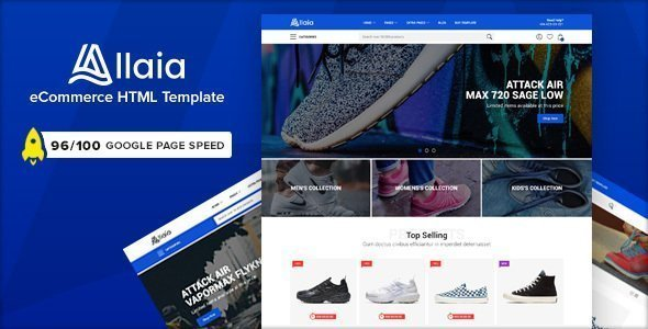 Allaia – eCommerce HTML Template