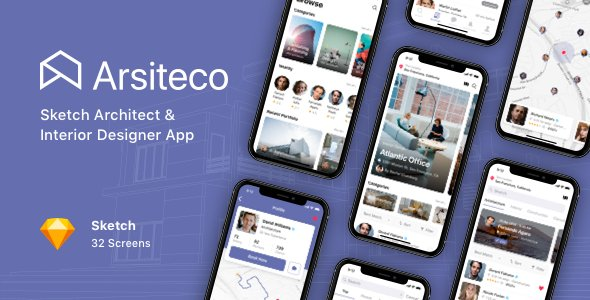 Arsiteco – Sketch Architect & Interior Designer App
