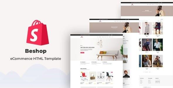 Beshop – eCommerce HTML Template