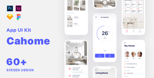Cahoome – Smart Home UI Kit