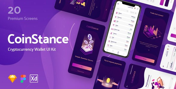 CoinStance – Mobile Cryptocurrency Wallet