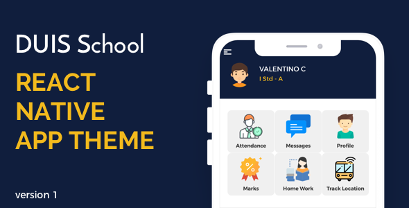 DUIS School React Native UI
