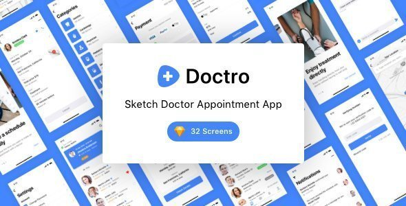 Doctro – Sketch Doctor Appointment App