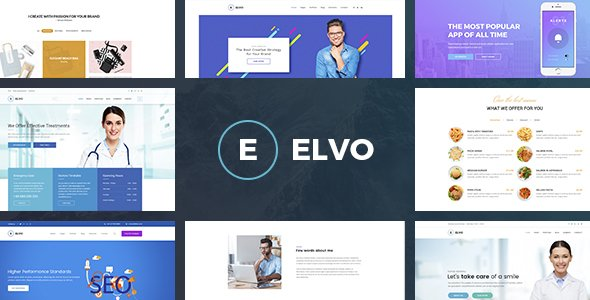 ELVO – Business Multipurpose PSD Template