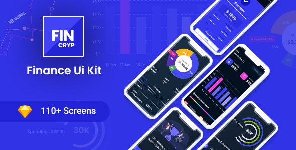 Fincryp – A UI Kit for Finance