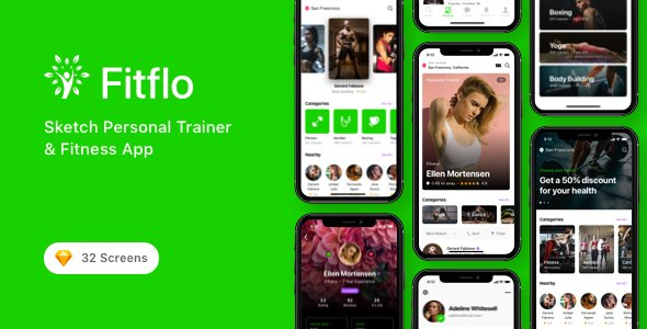 Fitflo – Sketch Personal Trainer & Fitness App