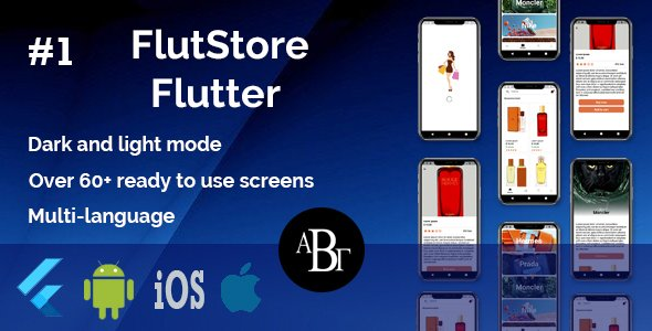 FlutStore –  E-commerce UI Kit in Flutter