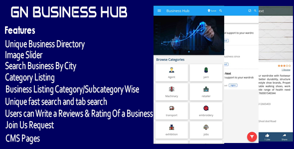 GN Business Hub – Ionic Mobile App