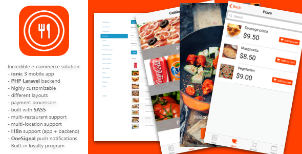 Giraffy Delivery – Complete food delivery platform with mobile apps