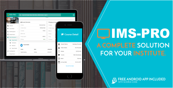 IMS Pro – Institute Management System-V 3.1