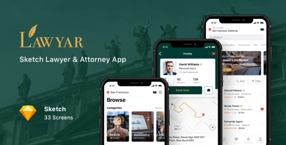 Lawyar – Sketch Lawyer & Attorney App