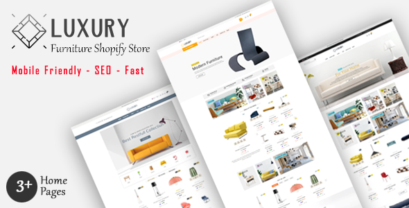 Luxury – Furniture Shopify MultiPurpose Responsive Theme