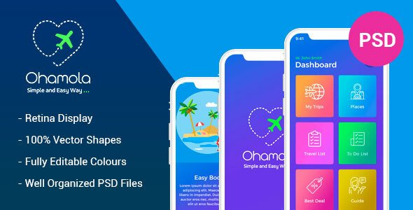 Ohamola Travel App