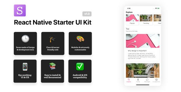 React Native Starter UI Kit