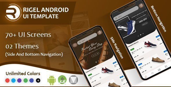Rigel – Native Android Ecommerce UI Template