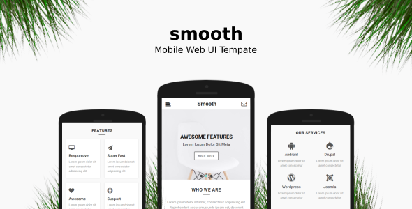 Smooth | Mobile Web UI Template