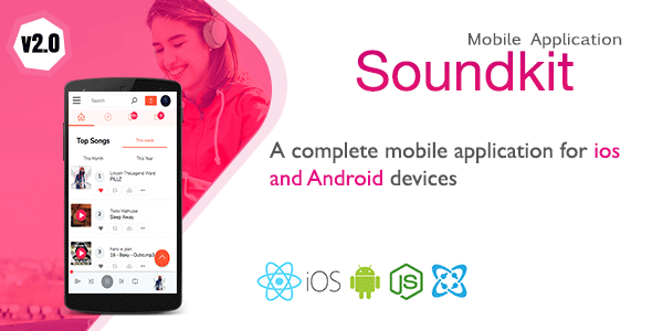 Soundkit – Mobile Application for Ios and Android