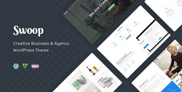 Swoop | Web Studio & Creative Agency WordPress Theme