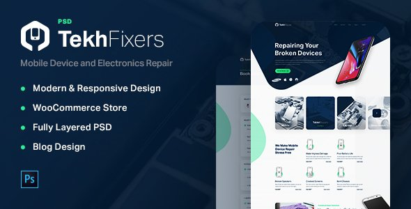 TekhFixers – Phone and Electronic Devices Repair Shop
