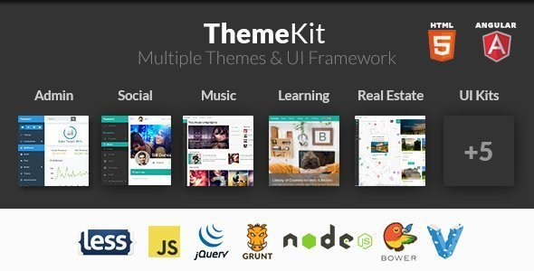 ThemeKit – Bootstrap Admin Theme Kit