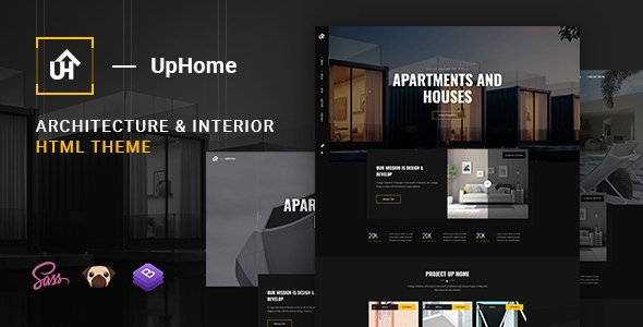 UpHome – Modern Architecture HTML Template