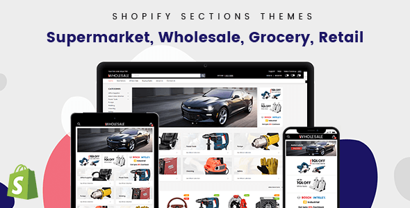 Wholesale – Mobile UI/UX Optimized Shopify Theme For B2B & B2C